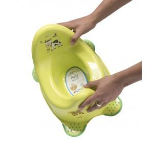 Dětský nočník ve světle zeleném provedení s motivem Funny Farm - 38x27x24 cm