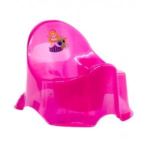 """Dětský nočník """"Little Princess"""", světle růžový, 30x25x22 cm"""