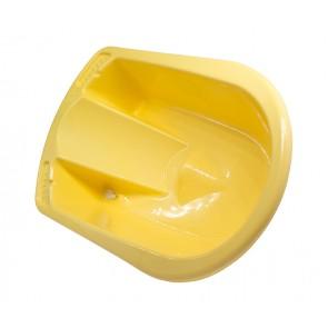 Anatomicky tvarovaná vanička v žluto medové barvě - POSLEDNÍCH 9 KS