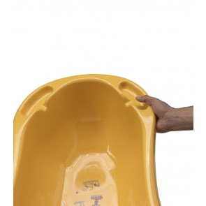 Dětská vanička ve světle oranžové barvě s motivem Funny Farm - 100x51x31 cm - POSLEDNÍCH 7 KS
